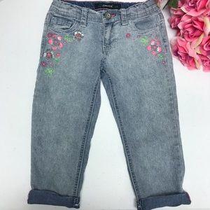 5af7b29ca6e0e Jordache Girls Capris. Size 8. Floral. G36